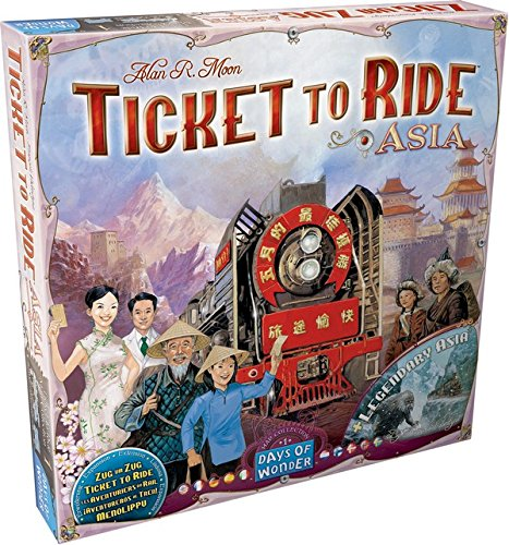 Image of   Ticket To Ride: Team Asia og Legendary Asia - Map Collection #1