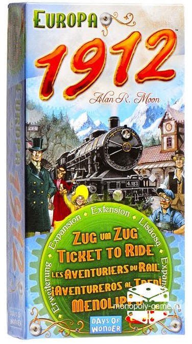 Image of   Ticket To Ride Europa 1912