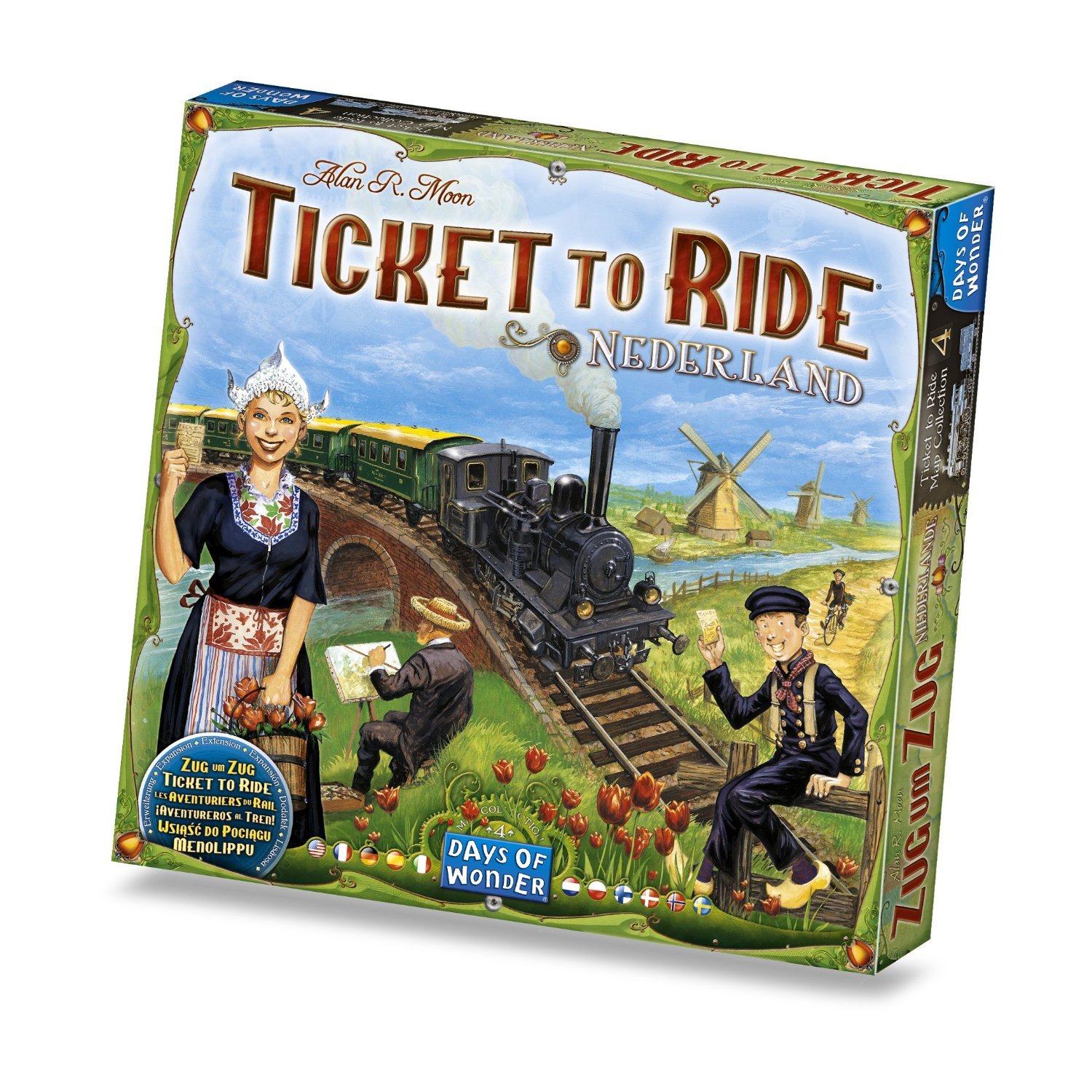Image of   Ticket To Ride: Nederland - Map Collection #4