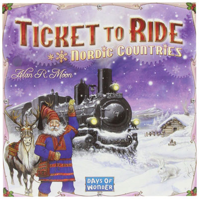 Image of   Ticket to ride Nordic Countries